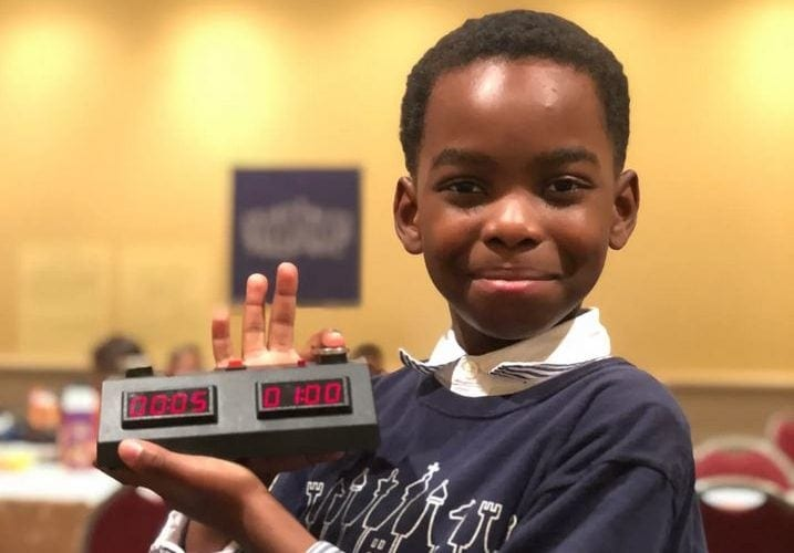 Homeless 8-year-old living in shelter wins New York chess championship
