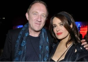 Salma Hayek's Husband François-Henri Pinault Pledges $113 Million to Rebuild Notre Dame Cathedral
