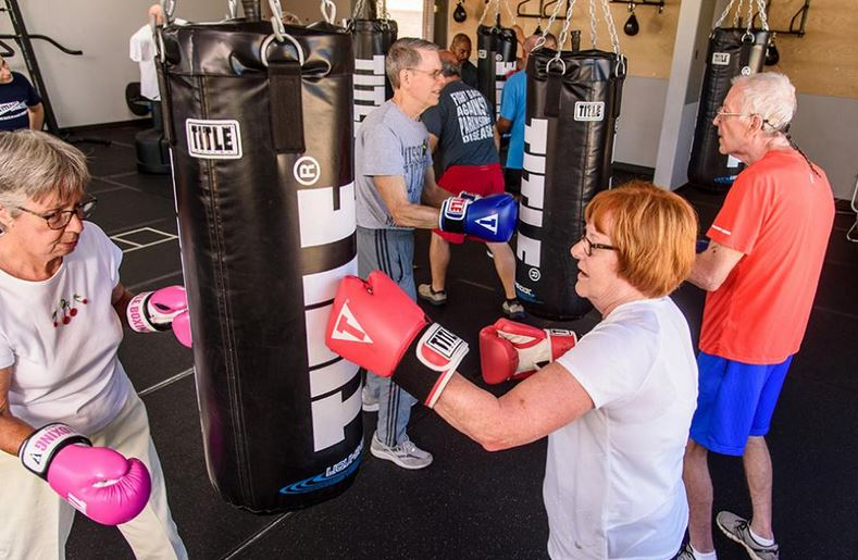 Boxing lessons are helping patients punch back at