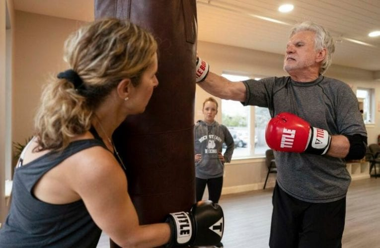 Boxing lessons are helping patients punch back at Parkinson's disease