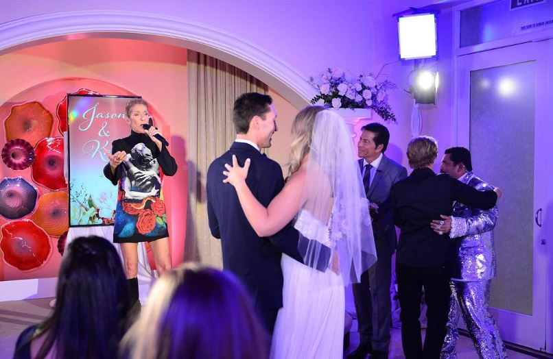 Celine Dion Surprises Air Force Couple by Singing First Song at Their Wedding