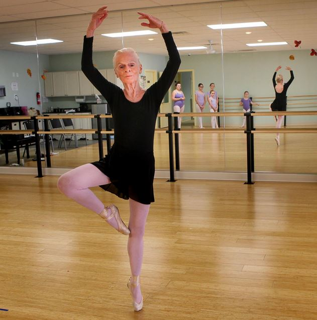 """78 year old ballerina is out to prove that """"it's never too"""