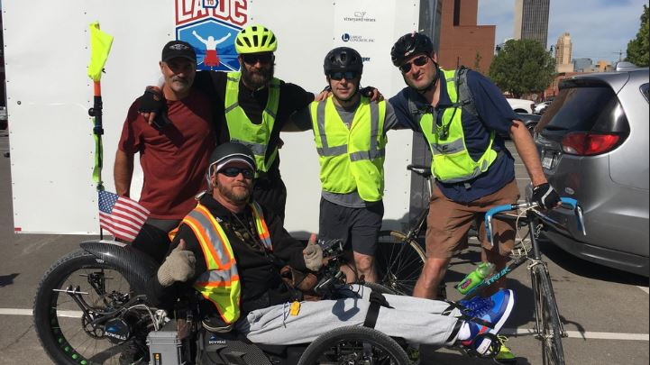 Paralyzed man finishes 3,100-mile inspirational journey from California to DC