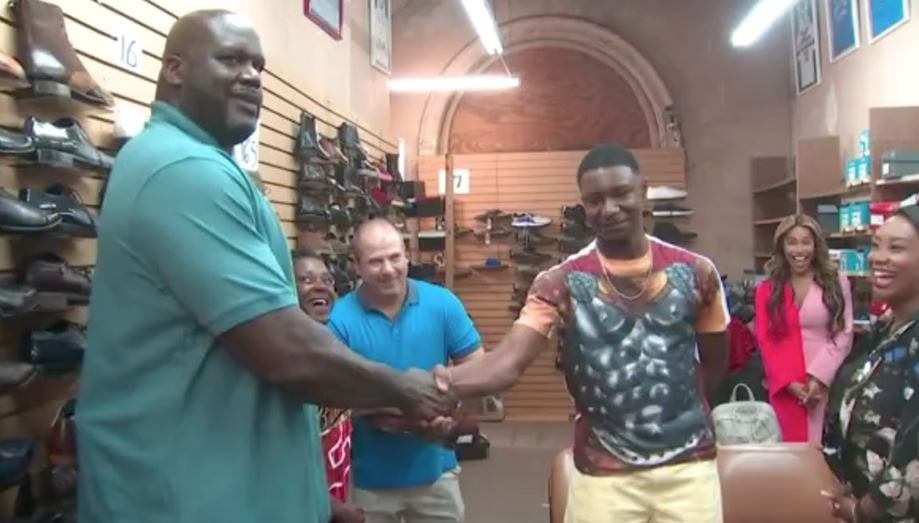 Shaq steps in to buy 'oversized' shoes for teen when his mom can't afford them