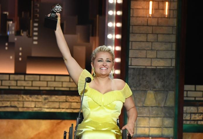 "Ali Stroker On Her Historic Tony Win for 'Oklahoma': ""It Inspires People To Keep Going"""