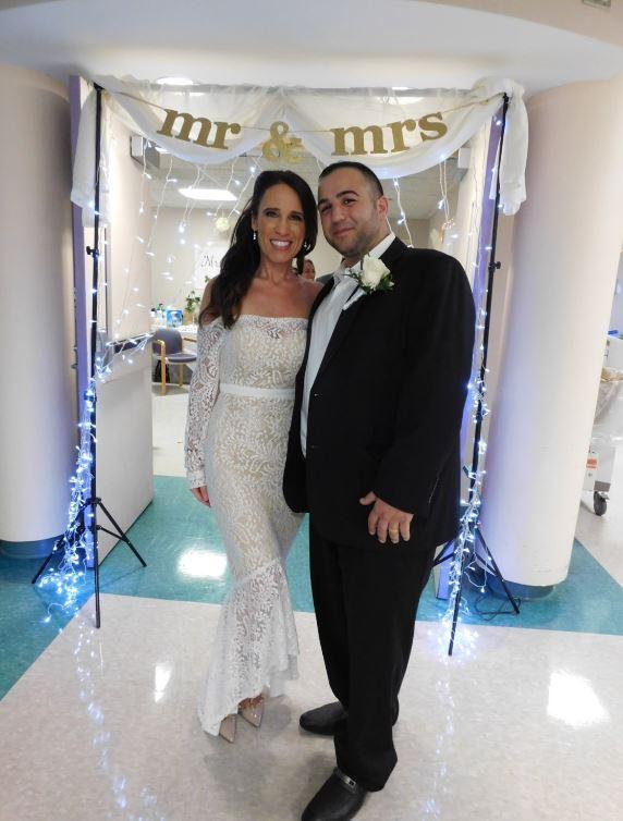 Newlyweds, Nicole Hartstein-Guida and Edward Guida