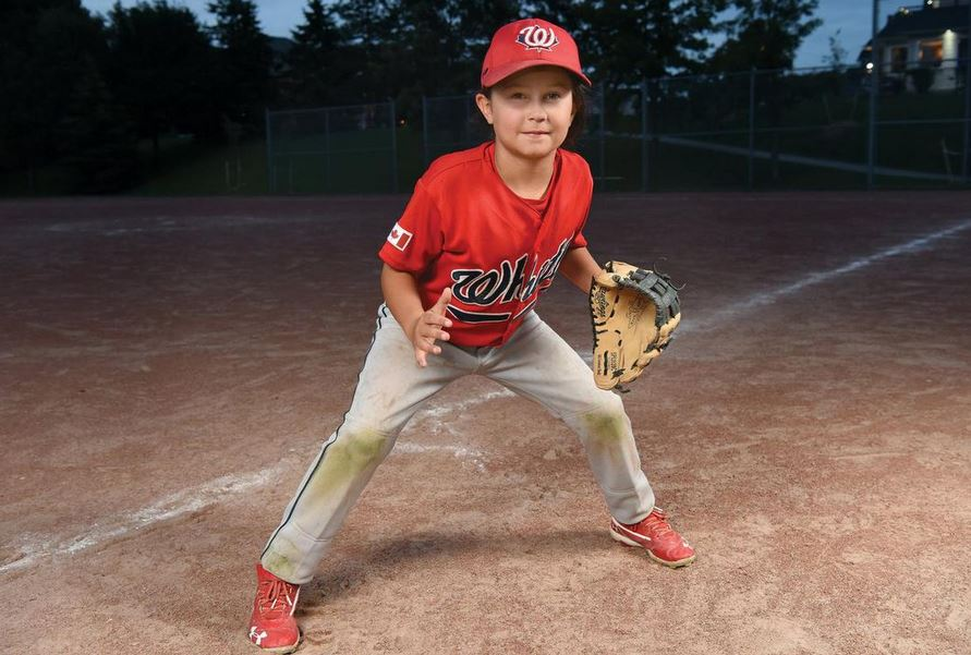 8-year-old girl told she shouldn't play baseball goes viral with highlight reel. Source: Today/Jason Liebgrets