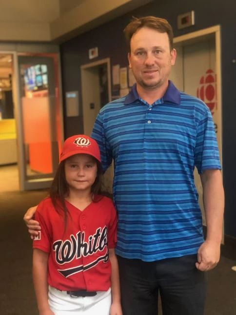 Dan Therien, Ashlynn Jolicoeur's dad, says 'it was upsetting' when another parent told him that girls shouldn't be playing baseball and that they should stick to softball.