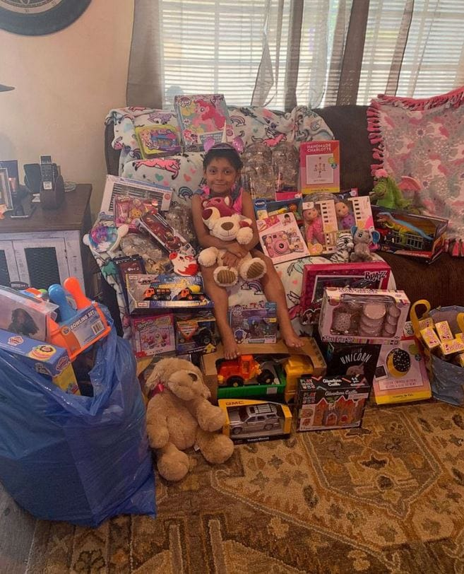 8-year-old Celebrates Being Cancer Free On Her Birthday