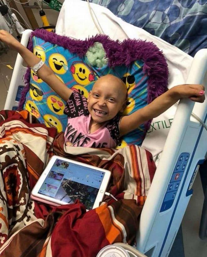 Zoe Figueroa, 8, was diagnosed with stage 4 neuroblastoma in 2018.