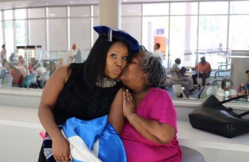 On June 14, Yolanda Perkins walked across the stage during commencement at Nova Southeastern University in Florida, and accepted her PhD as her family looked on.