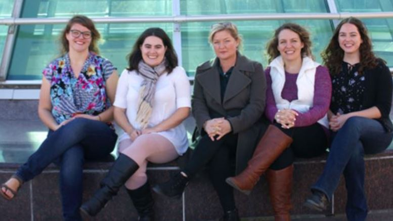 The dog therapy research team at Washington State University