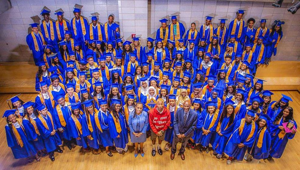Pharrell Williams offered internships to 114 high school graduates.