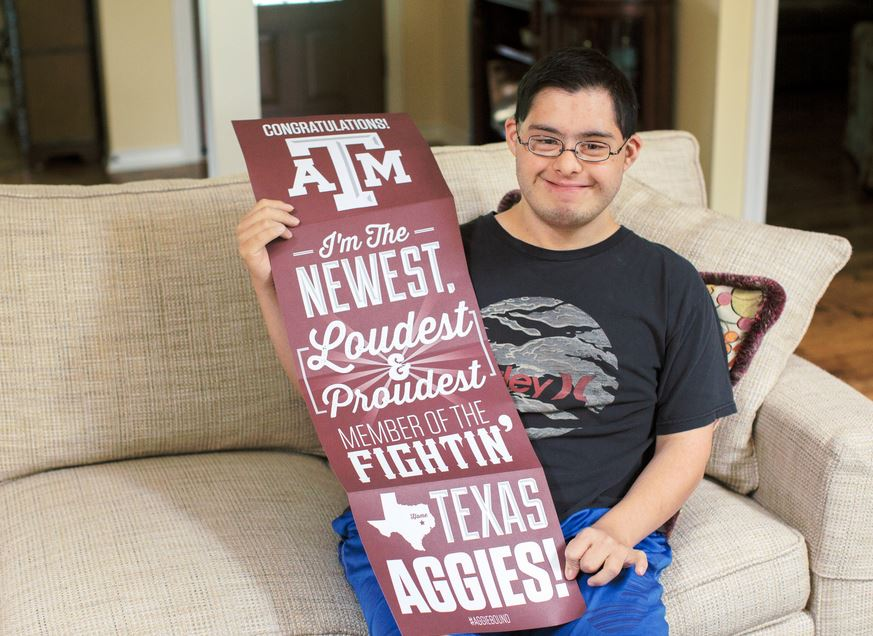 Texas A&M Just Started the State's First Inclusive 4-Year College Program for Students Living with Disabilities