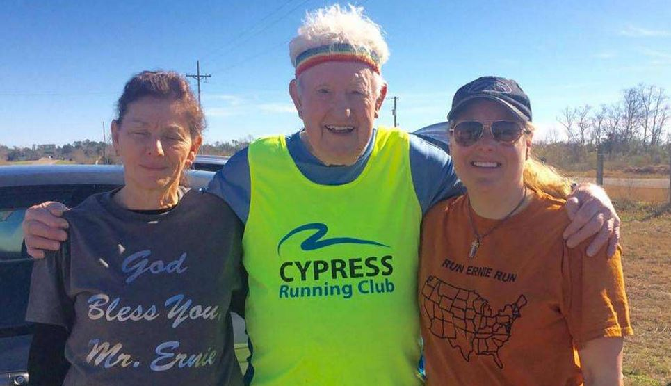 Ernie Andrus will retrace the route he took on his first cross-country trek in reverse and revisit friends he made along the way.