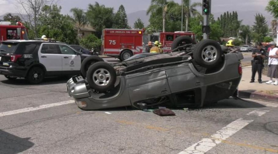 Actor Danny Trejo comes to the rescue of a baby that was trapped in overturned SUV