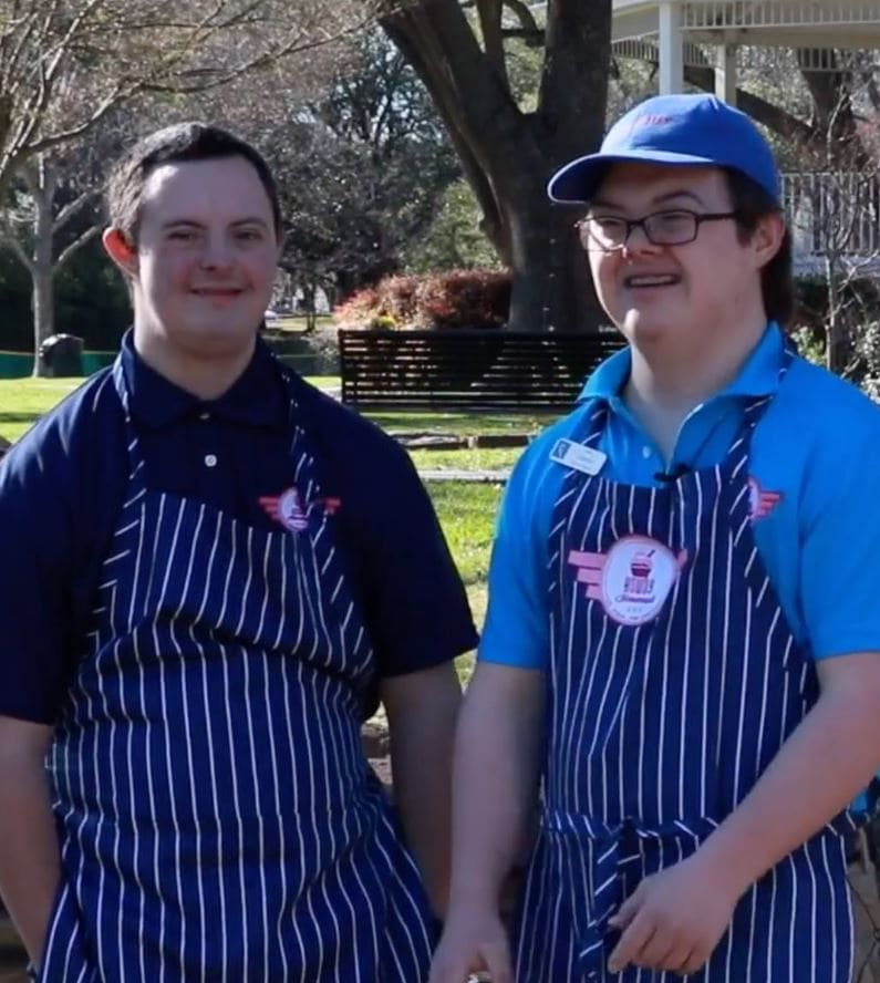 """Ice cream shop only hires workers with special needs to """"restore friendliness to the hospitality industry."""" Credit: Howdy Homemade - Facebook"""
