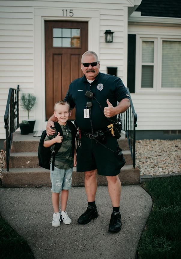 Police officer responds to call and helps little boy overcome extreme anxiety of monsters in his house.