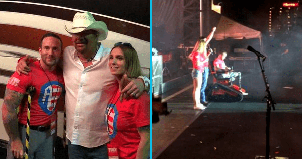 Toby Keith teams up with veteran nonprofit to give all-terrain wheelchair to marine who lost both his legs