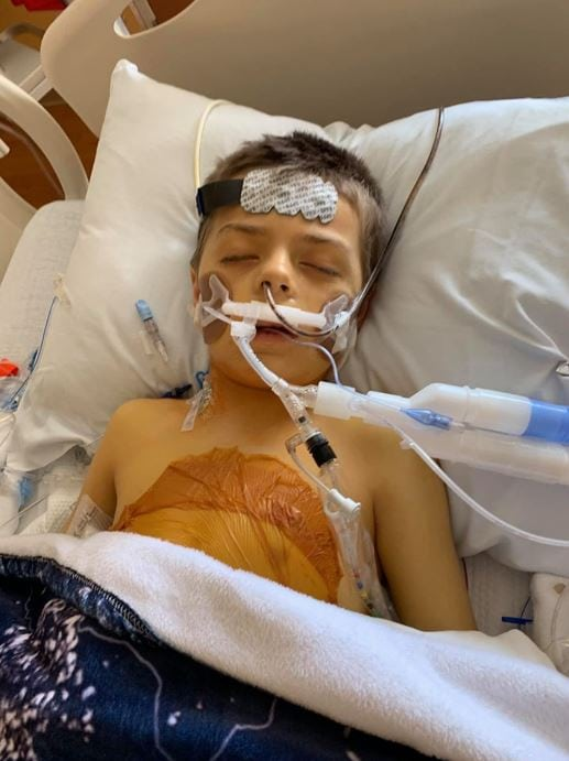 """Longtime ICU nurse saves 8-year-old boy's life with timely liver donation - """"We can't thank her enough""""."""