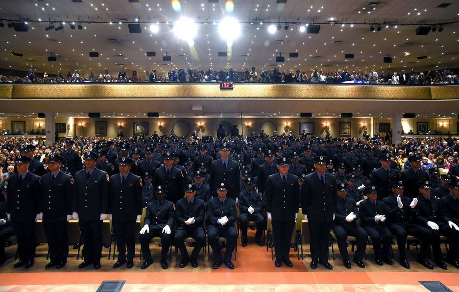 13 children of fallen 9/11 firefighters continue the family legacy by graduating from FDNY Academy.