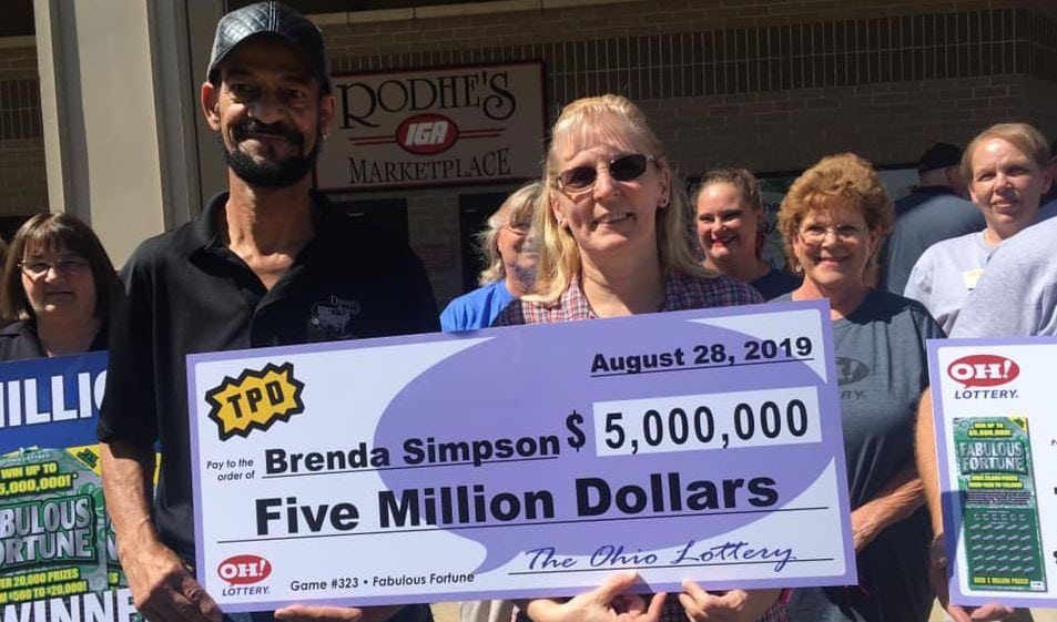 "Dedicated teacher still plans to work after hitting $5 million jackpot - ""I told my husband he can retire""."