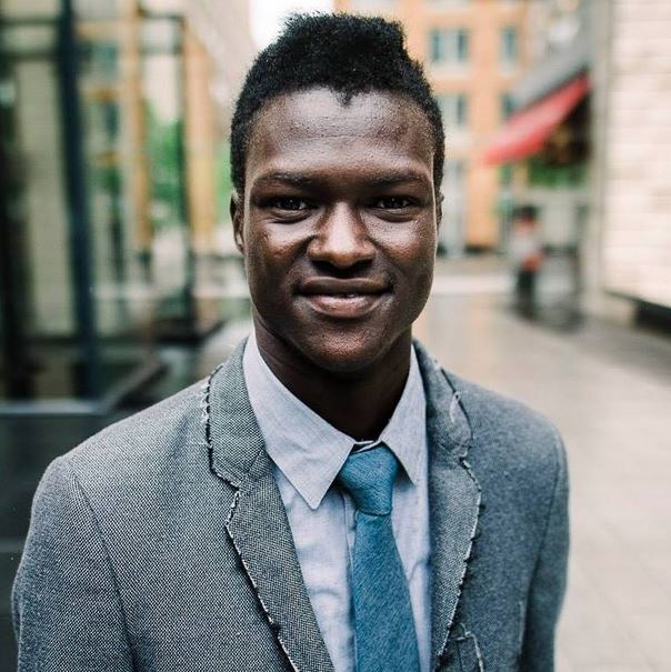 Former refugee is now the CEO of a philanthropic gaming company that makes video games to promote peace. Credit: Lual Mayen