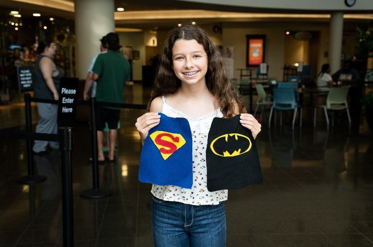 Florida Teen transforms NICU patients into tiny little heroes for Halloween with these homemade superhero capes.