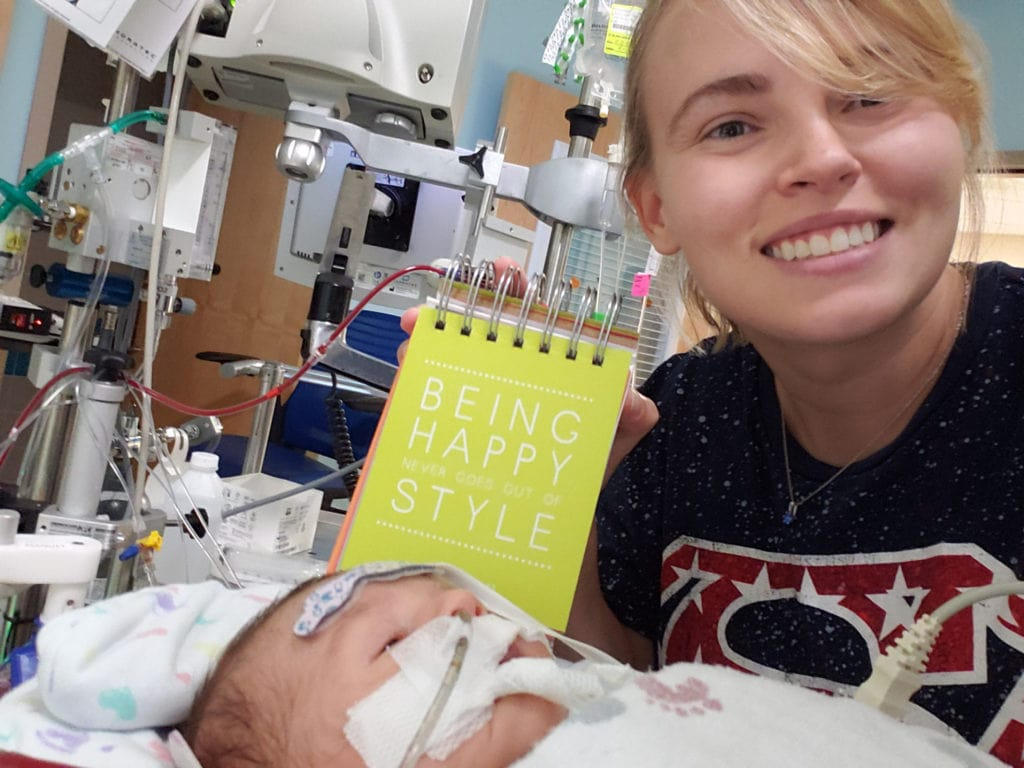 Uber driver takes new mom on shopping spree to cheer her up after finding out her baby is in the hospital.