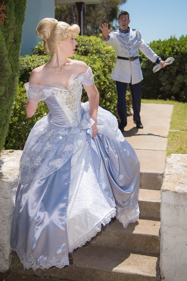 Mandy and Ryan Pursley recreating the magic of Cinderella.