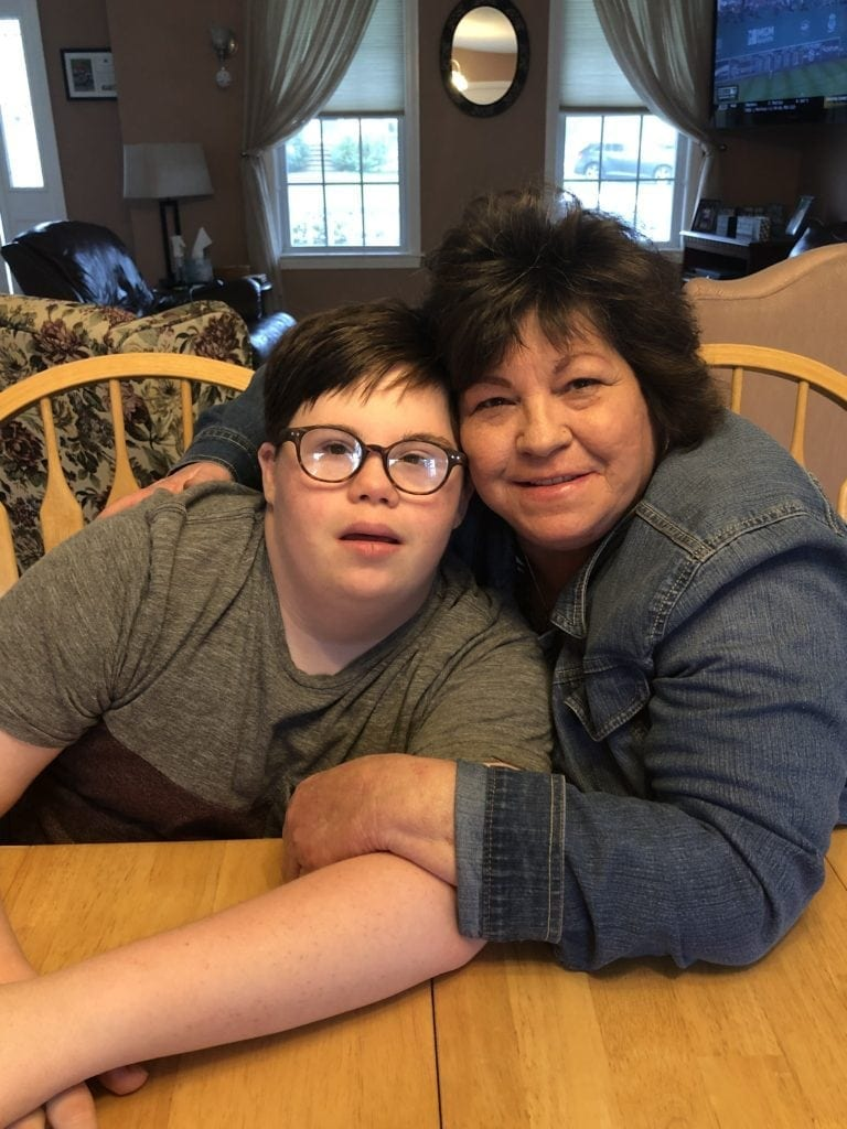 Teacher opens her home & heart to adopt a boy with Down syndrome after he lost his mother to cancer.