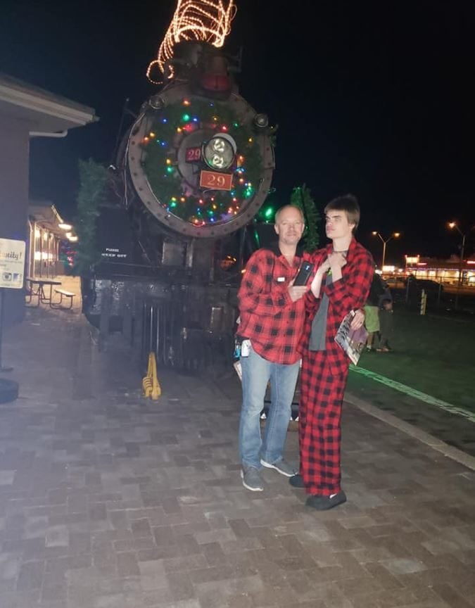 Boy with autism had a meltdown & missed his dream of seeing the Polar Express, so the Polar Express came to him.