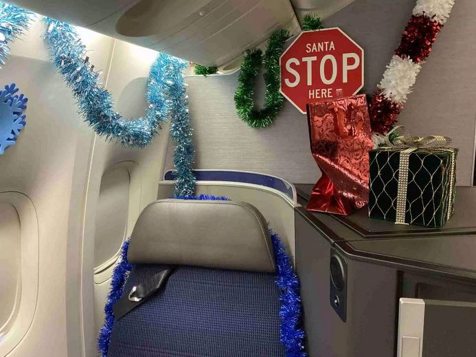 United Airlines sends over 100 terminally ill children on a special dream trip to the North Pole for the holidays.