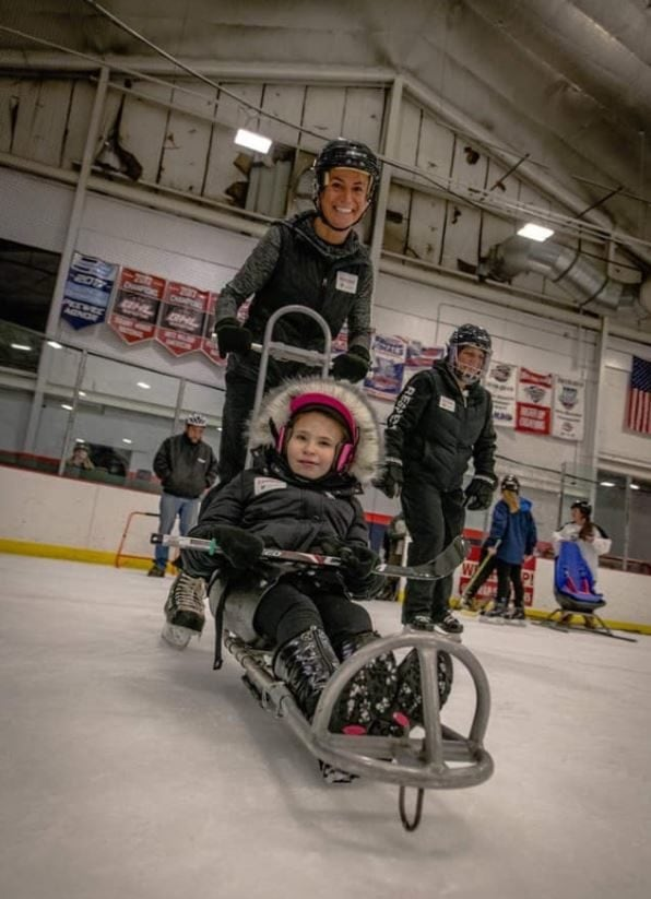 Mom of Child with Cerebral Palsy Starts a Special Hockey Team to Give Disabled Children a Chance to Play.