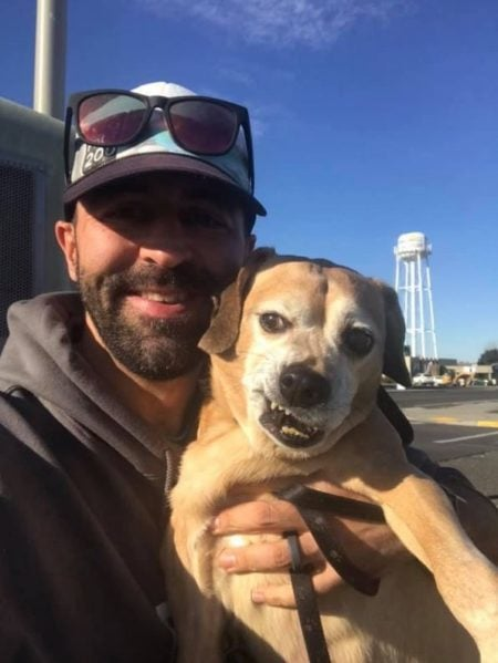 Animal shelter volunteer drives across the country to reunite a terminally ill woman with her beloved dog.