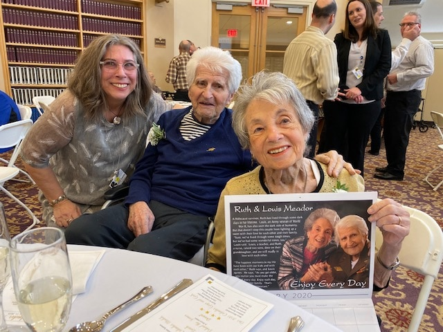 Nursing home residents preserve their stories & get happiness boost by being calendar models for a day.