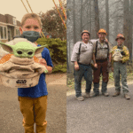 5-year-old boy sends his Baby Yoda doll to comfort Oregon firefighters - now they take it on their calls.