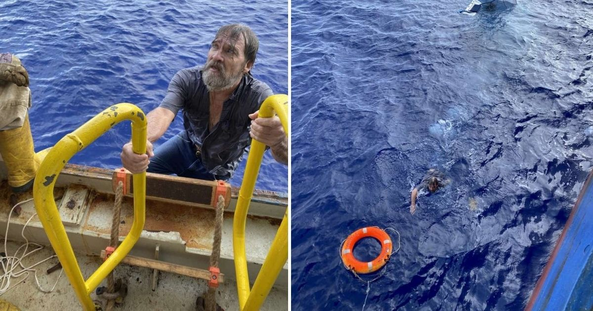 62-year-old missing boater miraculously rescued 86 miles off the coast of Florida.